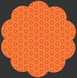 Oval Elements 928 Tangerine Tango