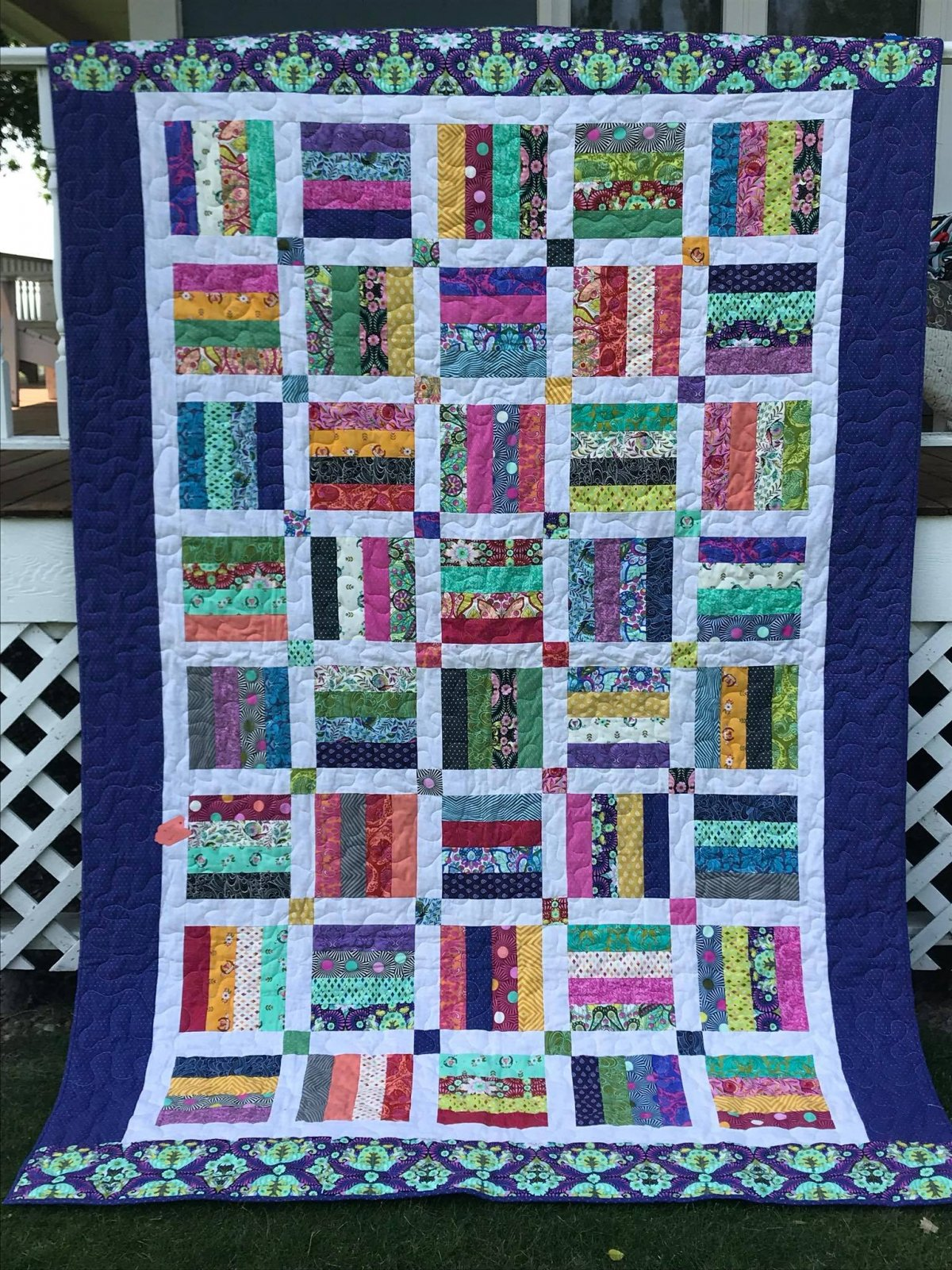 Tula Pink Quilt - Twin Size