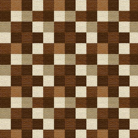 Quilting Treasures - Majestic Wolves - Squares - 1649 28229 A - Brown