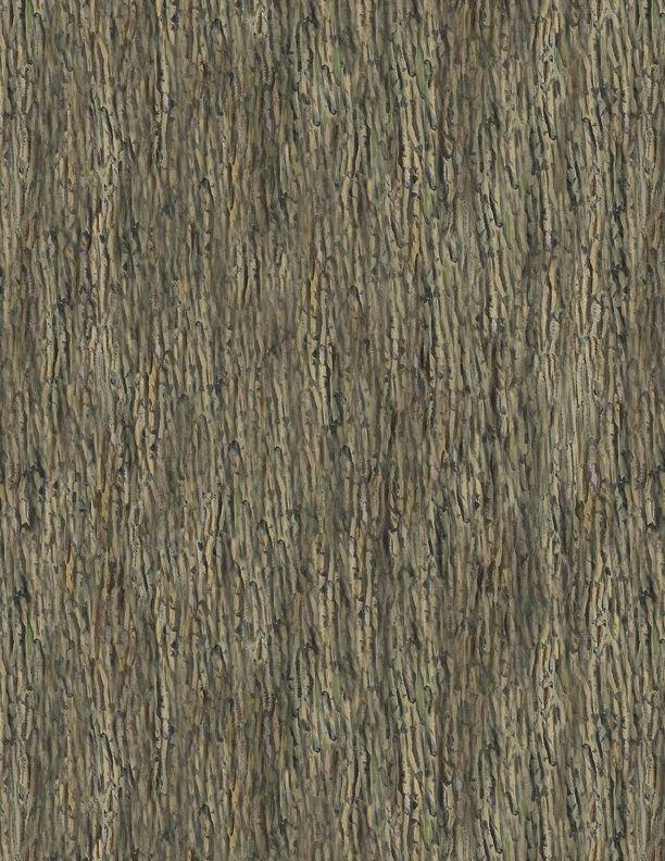 Wilmington Prints - A New Adventure - Tree Bark Texture - 3034-10142-225 - Brown