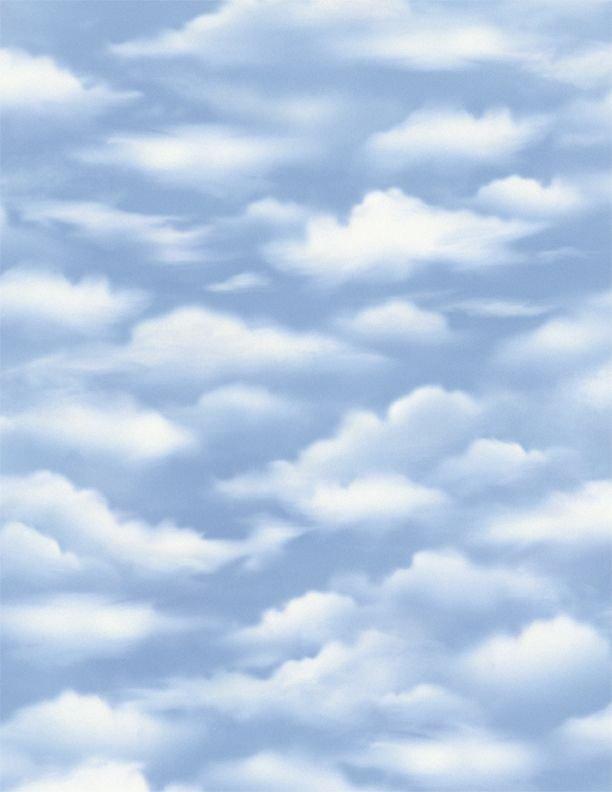 Wilmington Prints - A New Adventure - Sky - 3034-10143-441 - Blue