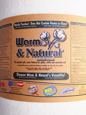 Warm & Natural 90 Inch - by the yard