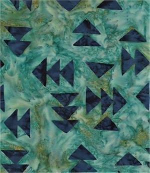 Batik Textiles - Spring 2019 Collection - 4909 - Teal/Blue