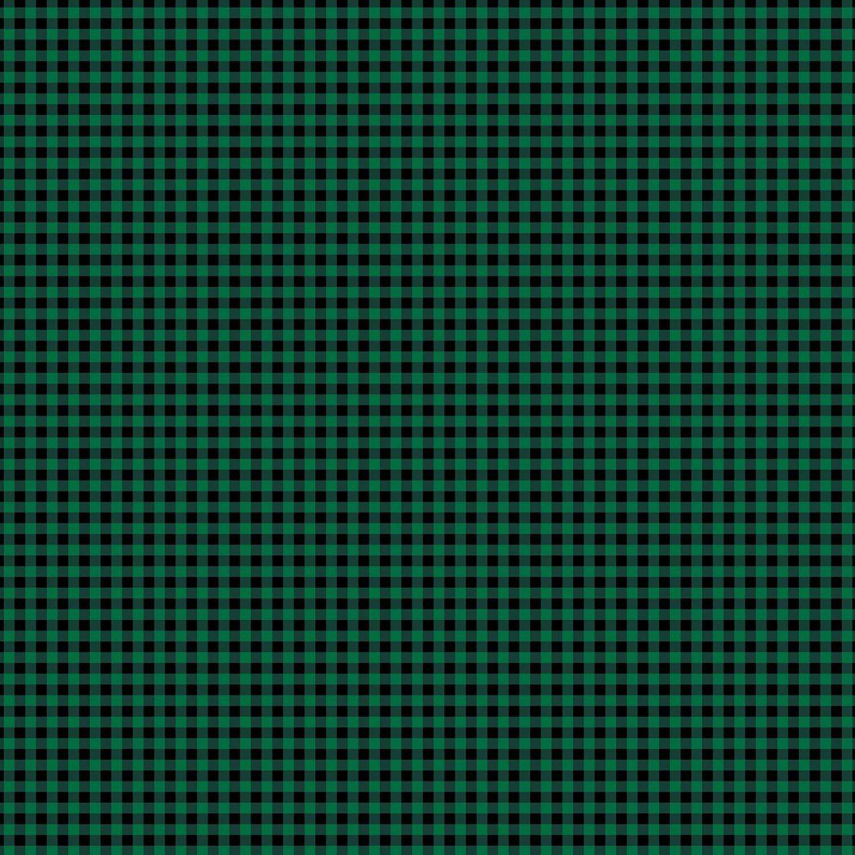 Foust Textiles - Lumber Jack & Jane - Lumberjack Gingham - 52468 5 - Green/Black