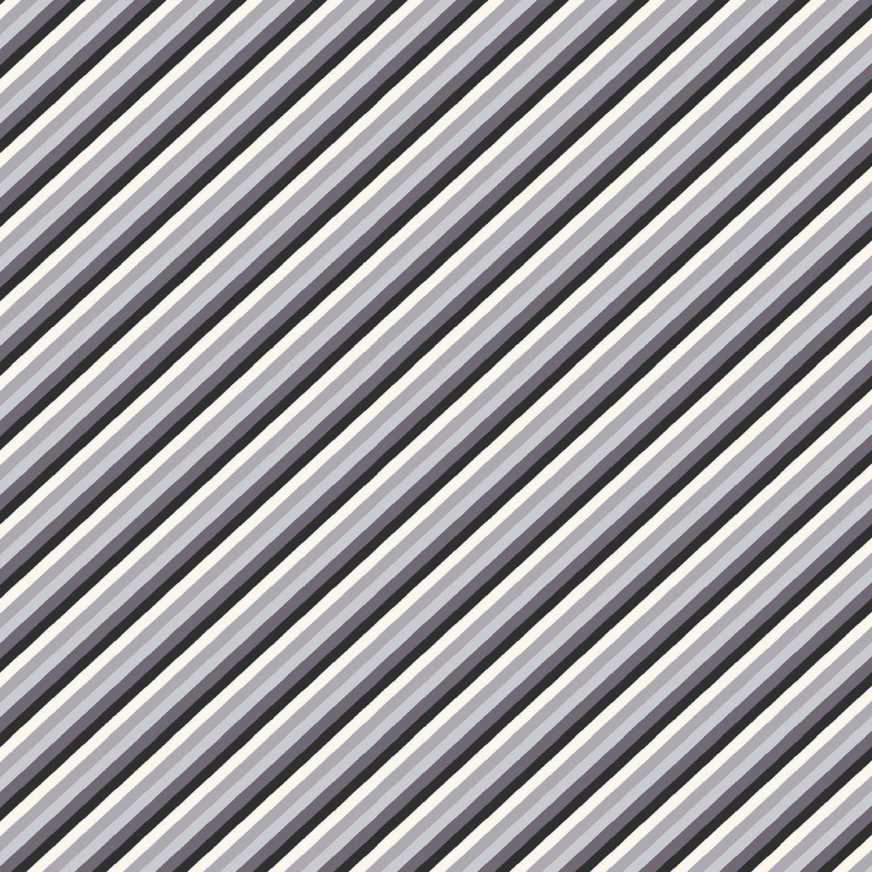 Foust Textiles - Discover - Stripe - 52629-2 - Grey