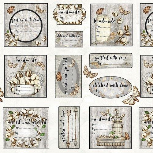 Love 4 Cotton - Quilt Labels - 9443-90