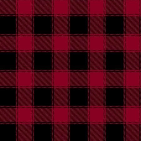Timeless Treasurers - Holiday and Harvest Plaids - Holiday - CF5784 - Red