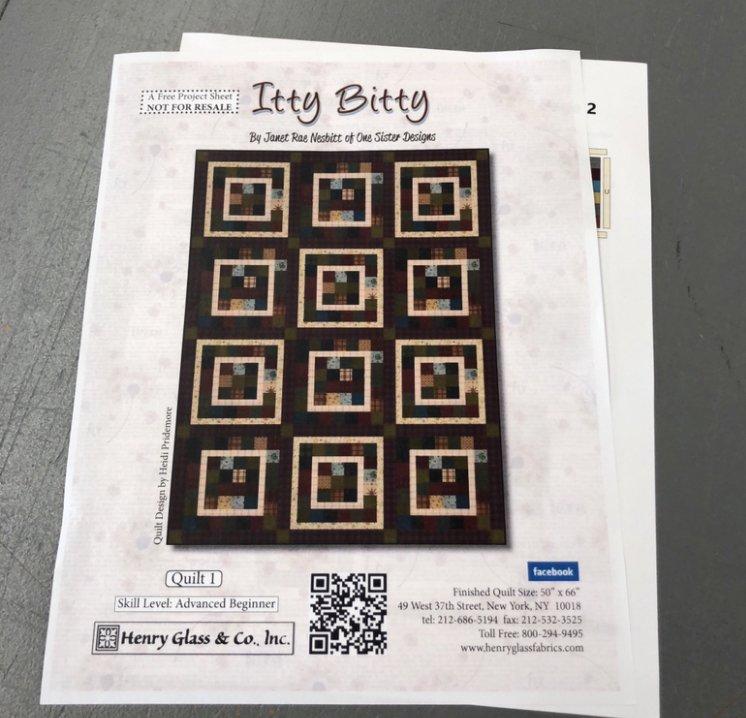 Itty Bitty Quilt Kit