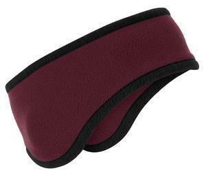 L SS Fleece Cont Headband Furry Fleece