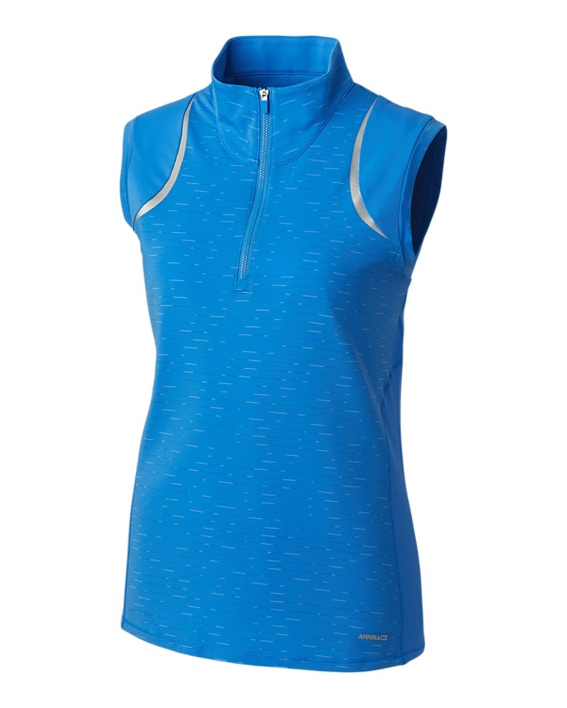 Annika Elite Contour Sleeveless Mock Half-Zip
