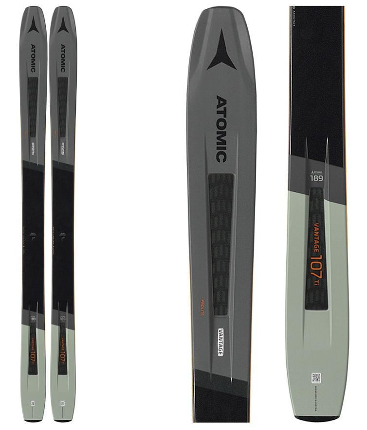 Atomic Vantage 107 TI Skis 19/20