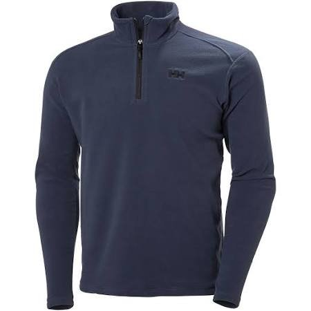HH Daybreaker 1/2 Zip Fleece Deep Steel Med 14/15