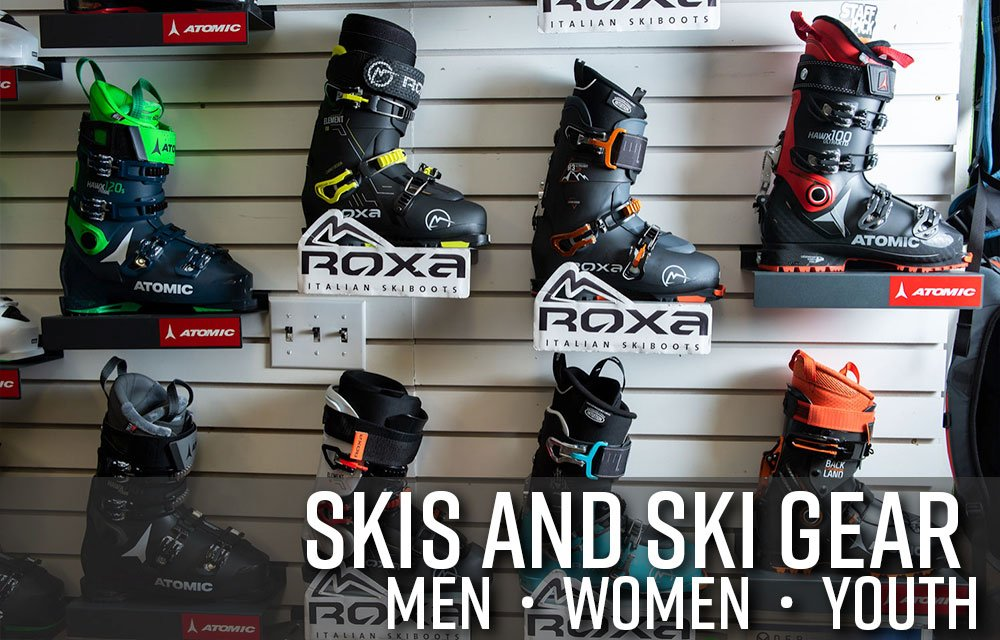 Skis and Ski Gear in Boise Idaho