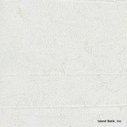 Island Batik - Sprinkles - White
