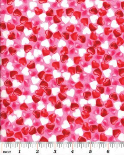 Candy Store - Hearts Pink