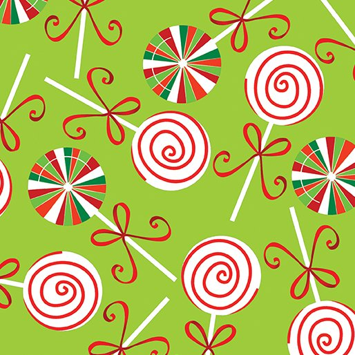 Holiday Cheer - Lollipops Lime