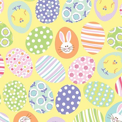 Funny Bunnies - Yellow