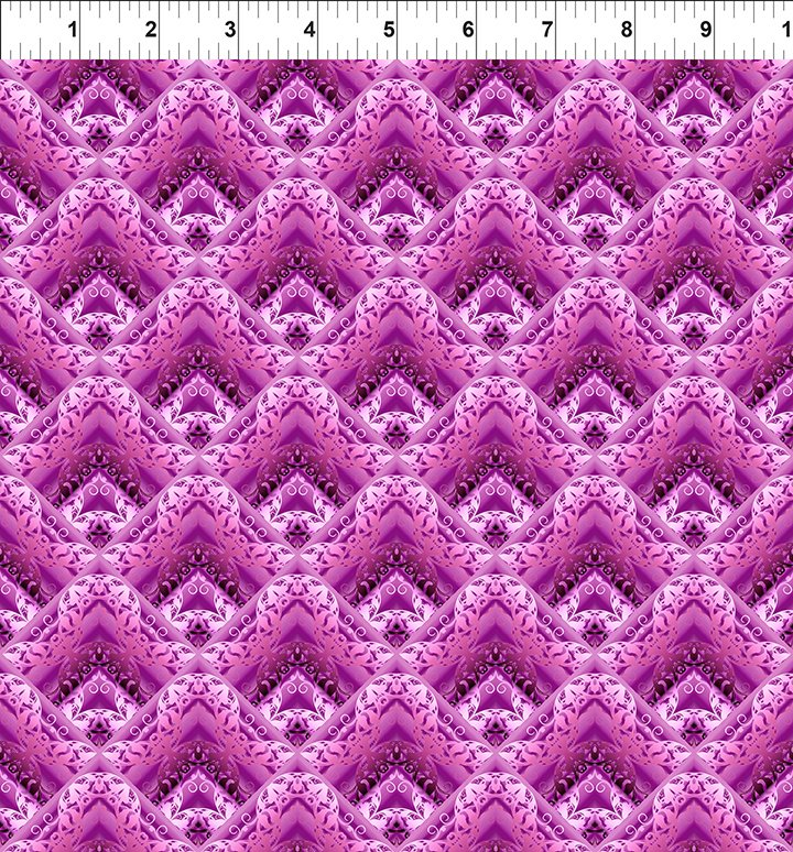 Unicorns - Purple Geometric