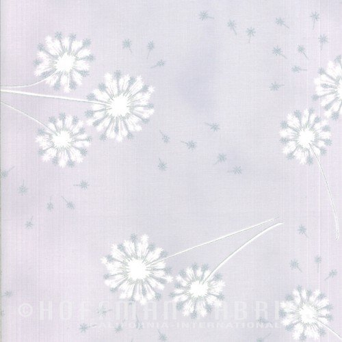 Clarabelle - Gray and Silver Dandelions