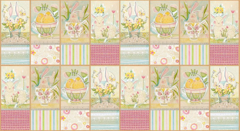 Promise of Spring - Spring Audience Panel Squares