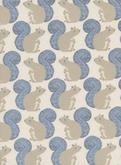Magic Forest - Squirrels; Gray/Blue
