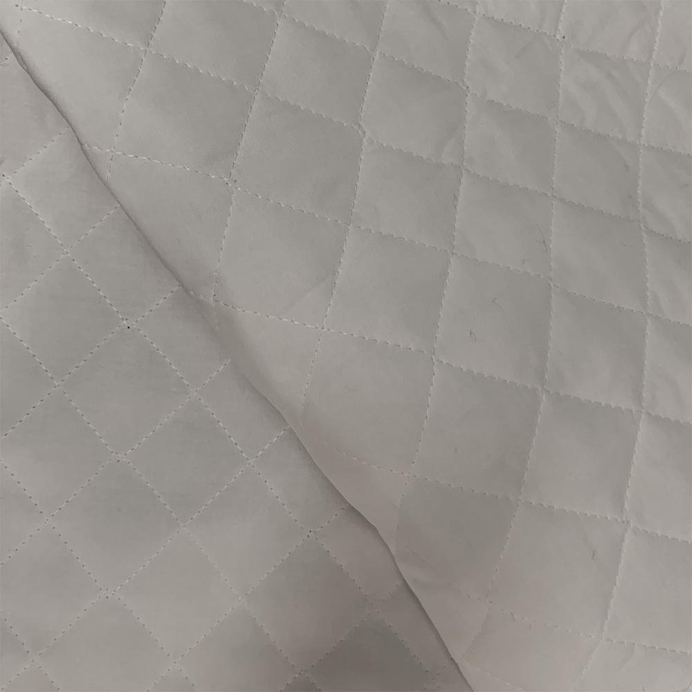 Double - Faced Quilted - Ash Grey