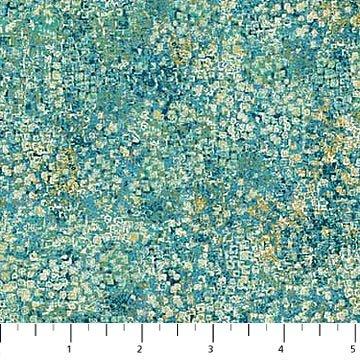 City Scene - Turquoise Dots