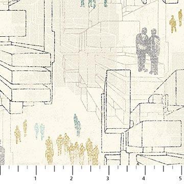 Urban Grunge - Buildings Cream