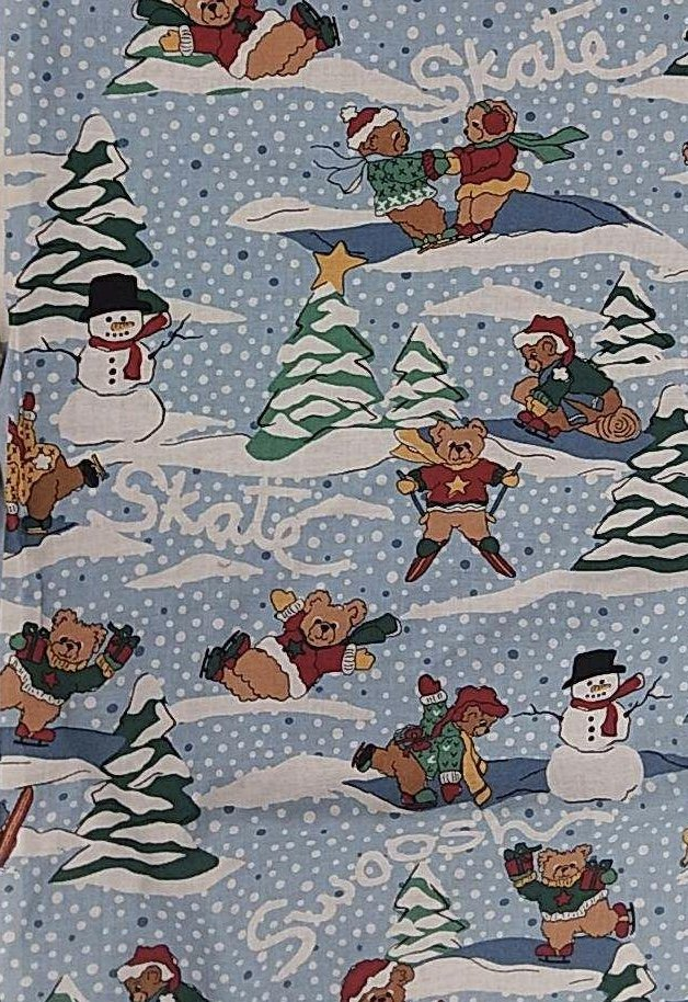 Snow Teddies - Skating Christmas Bears