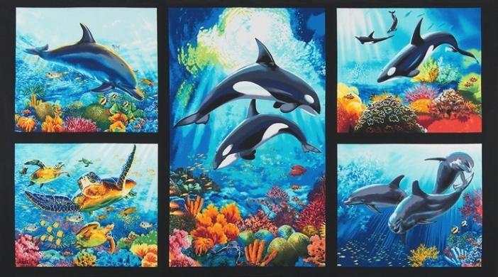 Island Sanctuary 2 - Sea Life Panel