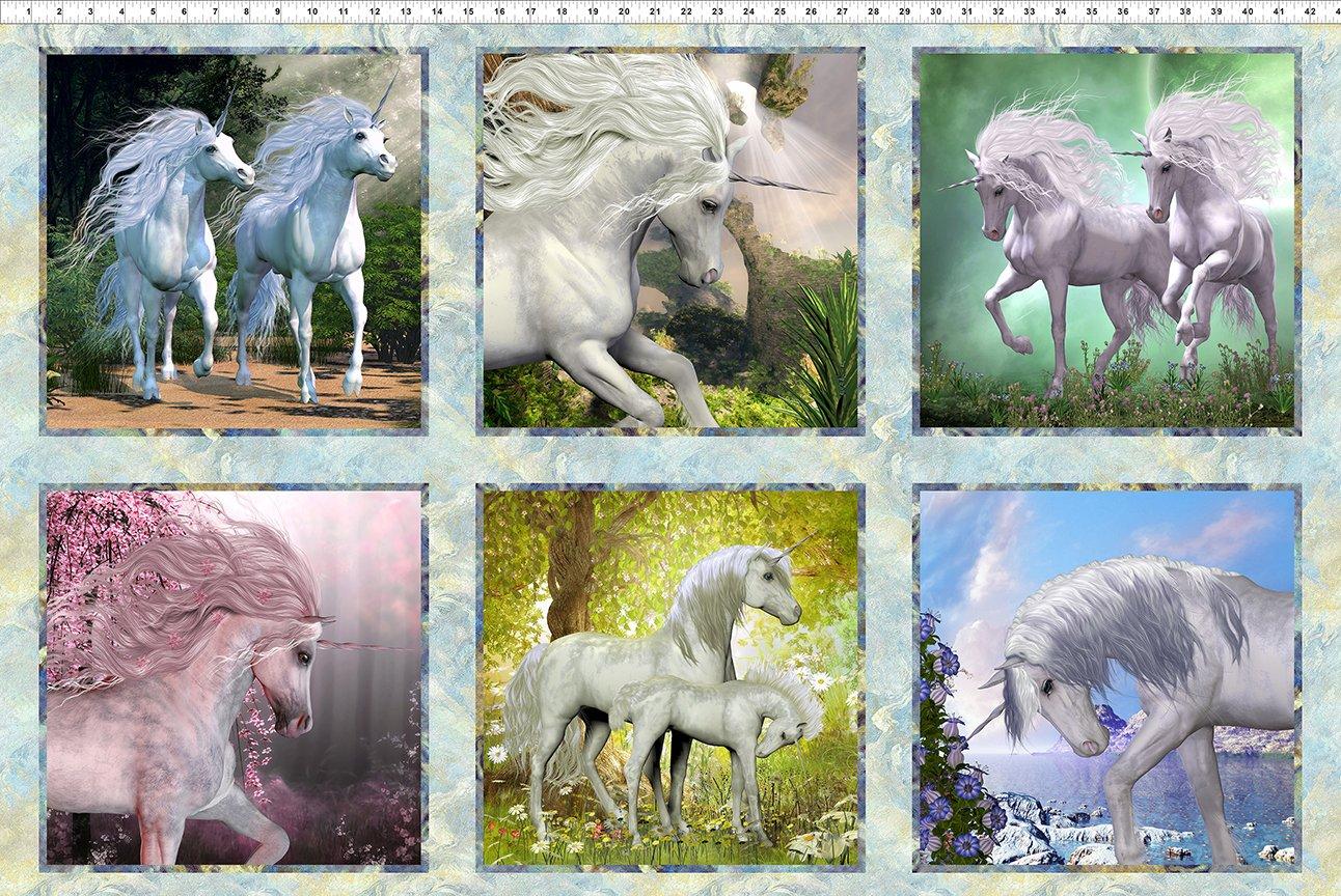 Unicorns - Panel Squares