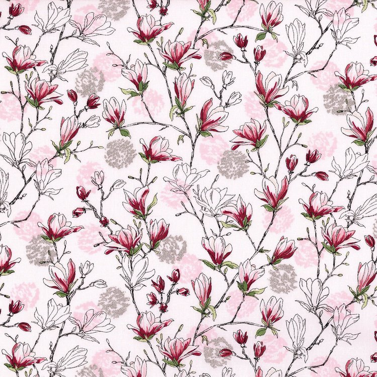 Serene Spring - Budding Blossoms Pearl Pink