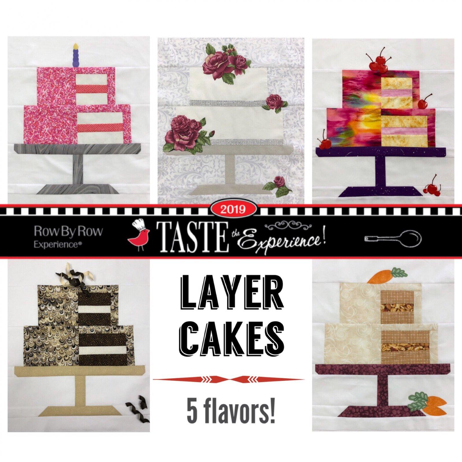 RxR 2019 - All 5 Cake Blocks <br> ($10.00 savings!)
