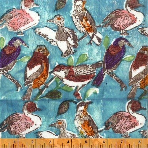 Meadowlark - Birds/Ducks Aqua