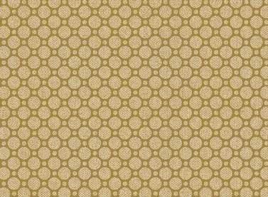 Cottage Whites - tan circles