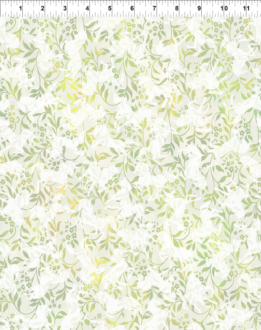 Unicorns - Small Unicorn Floral Green