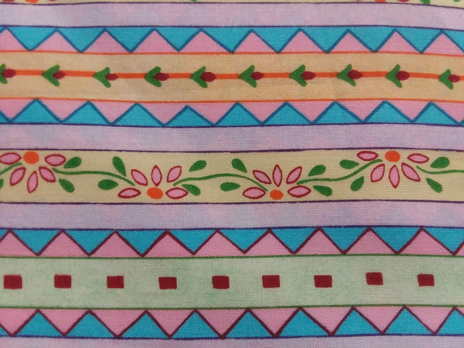 Anna Geometric Triangle Stripe