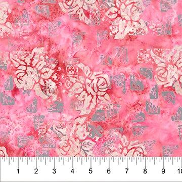 Patio Pink Stone Cotton Batik