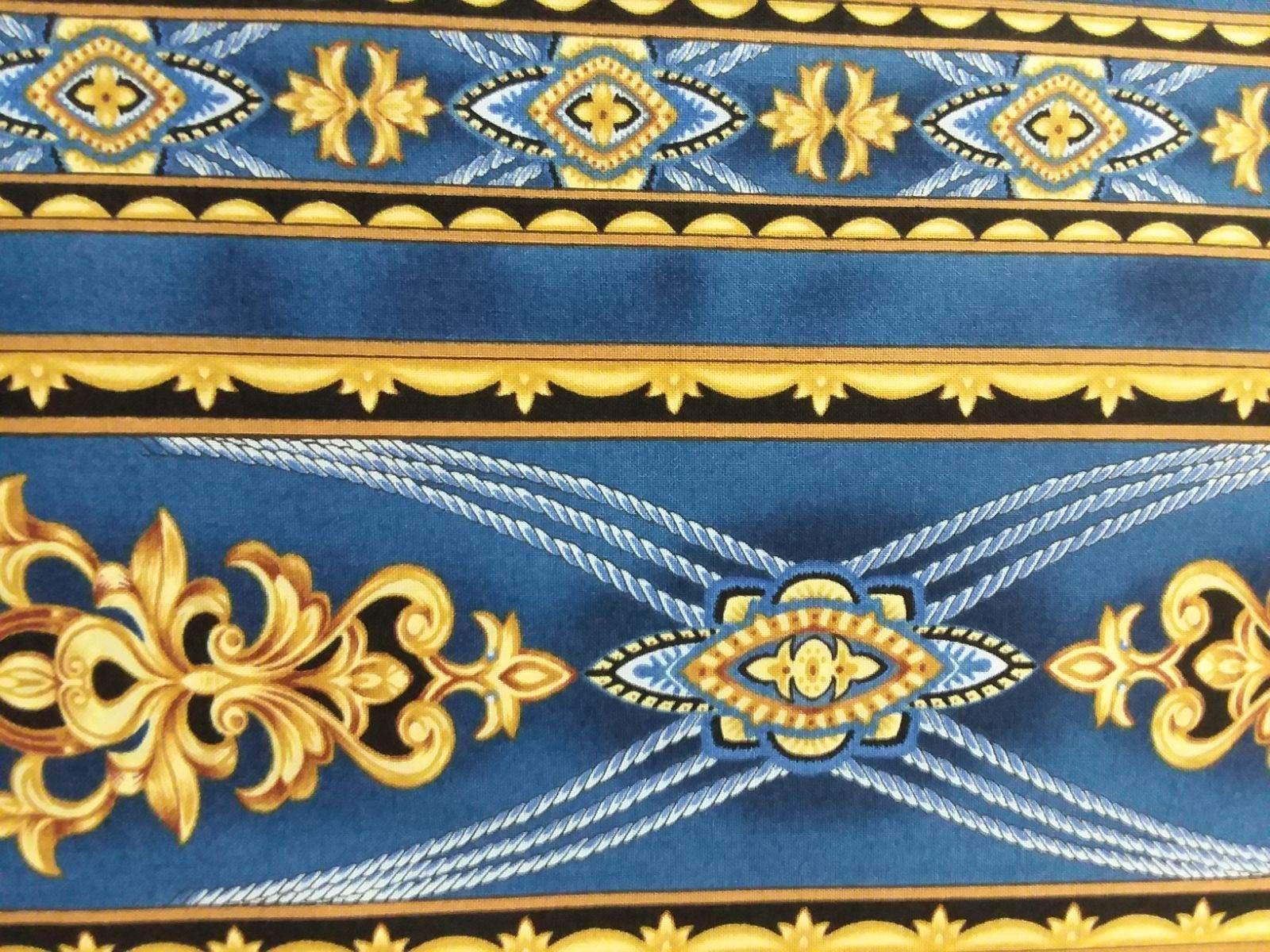 Coraline - Royal Blue Stripes