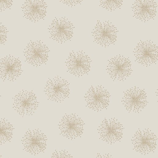 Natures Pearl - Floating Dandelion Putty/Taupe