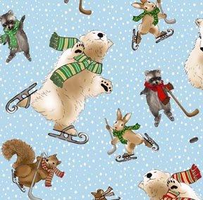 Holiday Basics - Skating Animals