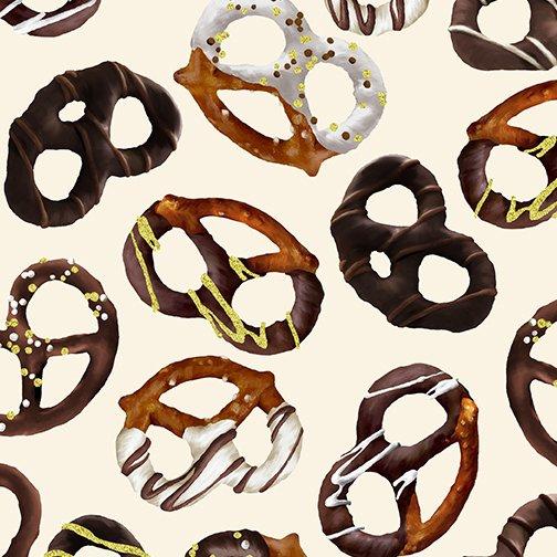 Chocolate Pretzels - Cream (Chocolicious)