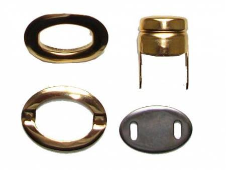 Twist Lock set-Gold