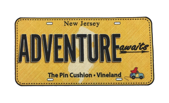 RxR 2017 License Plate - Adventure Awaits