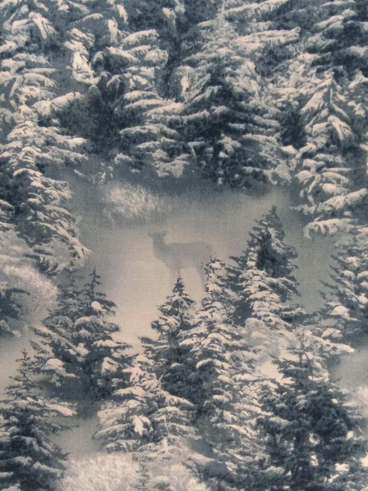Snowy Silence - Tree Landscape
