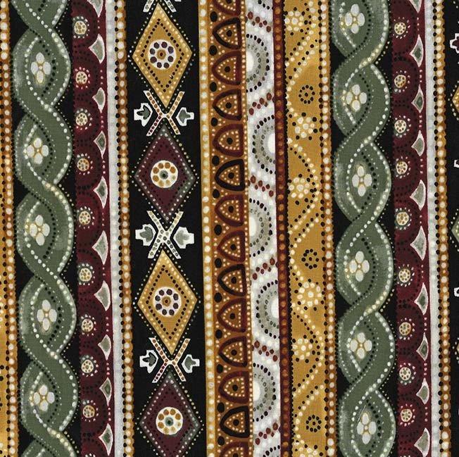 Bali Bazaar - Thyme Stripes