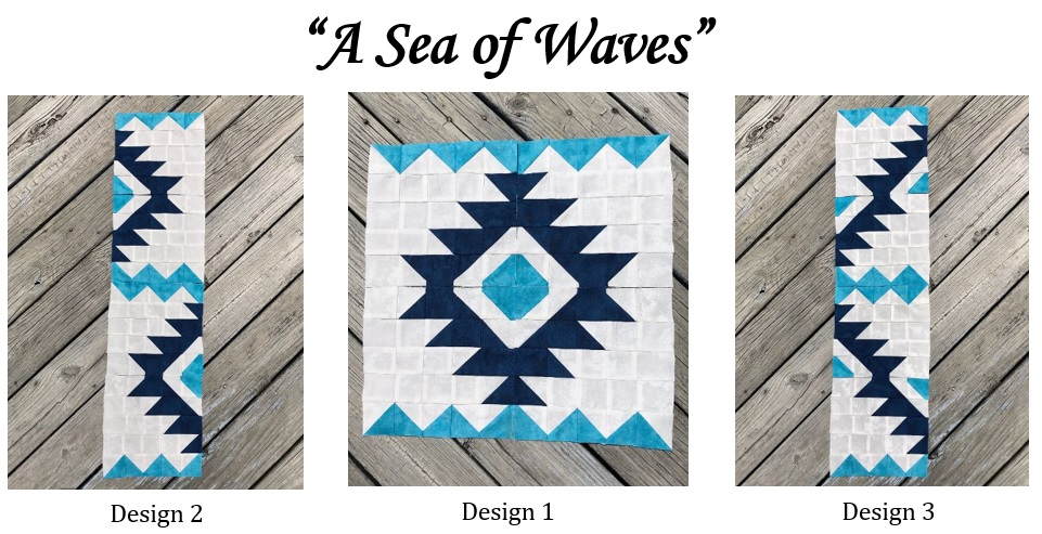 Quilter's Trek 2020 - A Sea of Waves