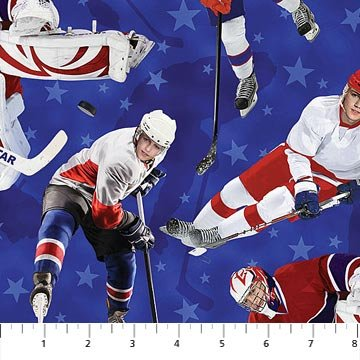 All Star Hockey - Players Blue