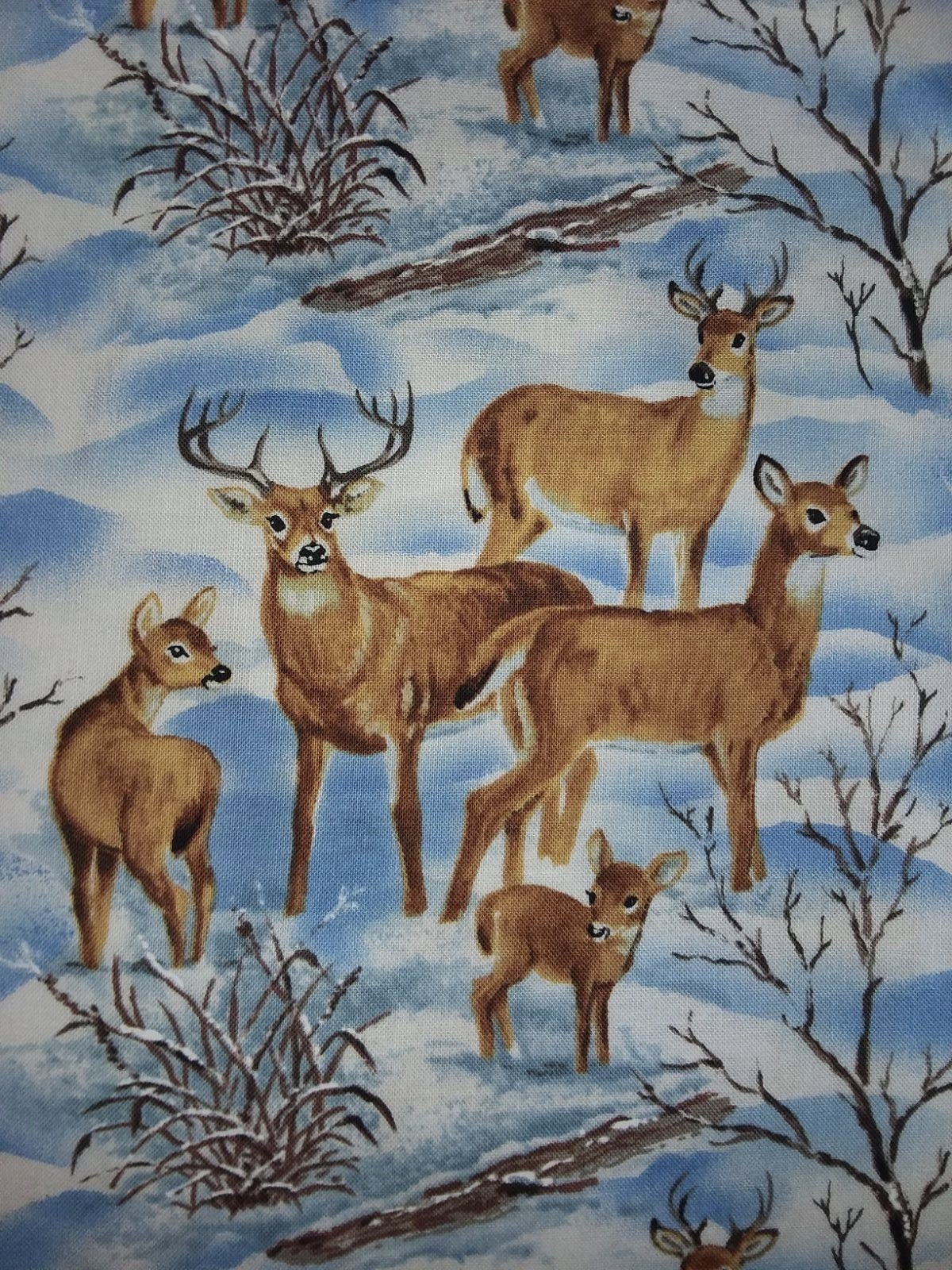Snowscapes - Deer Landscape