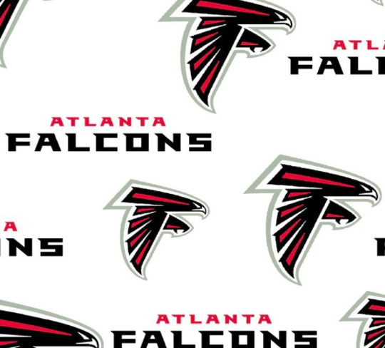 White Atlanta Falcons Cotton 58